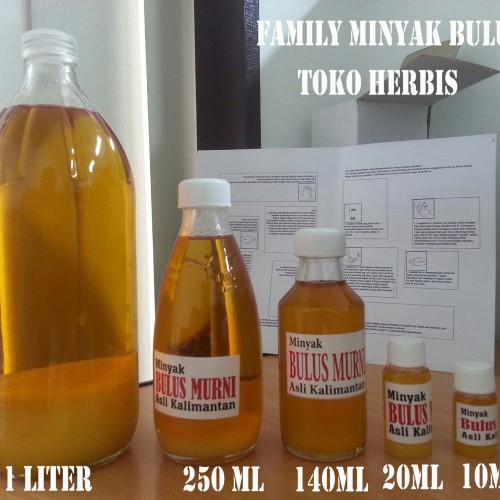 Foto Produk Minyak Bulus Asli Kalimantan - 1 liter - ORIGINAL dari Herbis