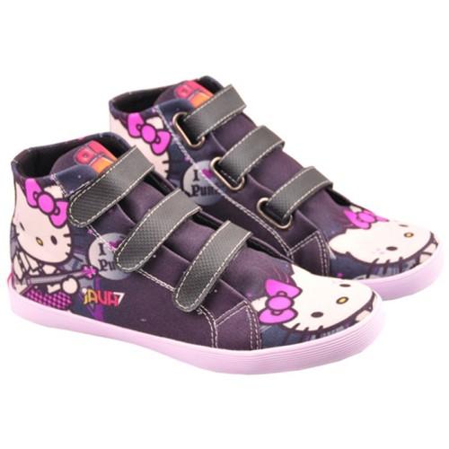 Foto Produk sepatu anak perempuan motif hell kitty / sepatu sekolah cnz 788 dari Cahaya Grosir Bandung