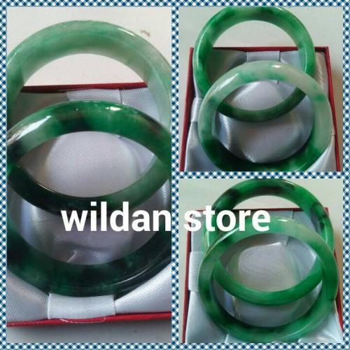 Foto Produk gelang kesehatan giok birma asli dan berserat dari wildan-store