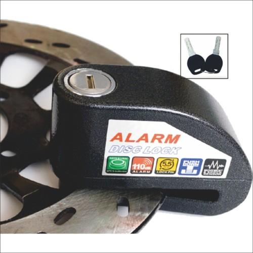 Foto Produk KUNCI Disc Cakram Alarm , untuk  Sepeda motor roda seped, Tahan Air dari tokomurrah