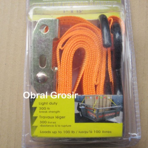 Foto Produk Tali Serbaguna Tie Down Pengikat Barang Ratchet Panjang 2,5 meter Box dari Obral Grosir