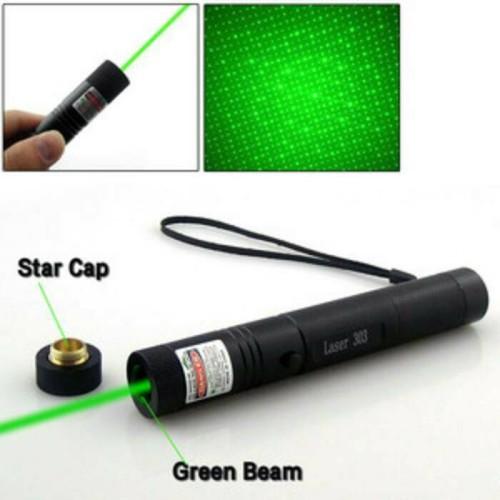 Foto Produk Senter Green Laser Pointer Recharge 303 10KM 1 Mata Hijau Terjauh - Hitam dari lbagstore