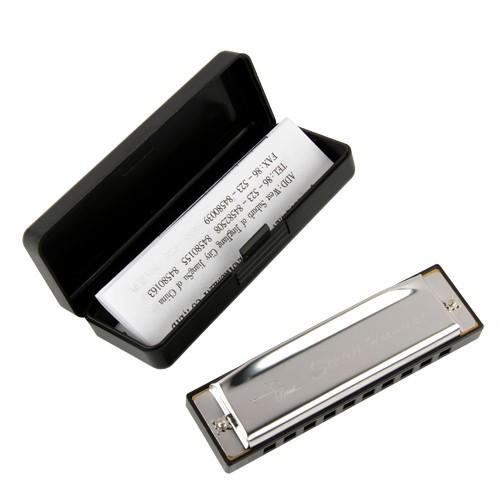 Foto Produk Harmonika Swan nada C 10 lubang / 10 holes harmonica dari Grandia Shop