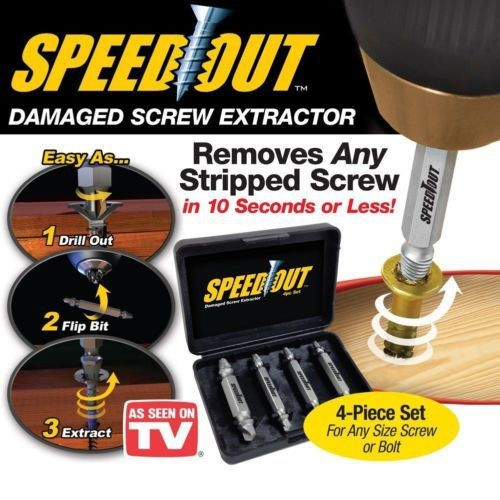 Foto Produk Screw Remover Pencabut Pelepas Baut Tarik Paku skrup sekrup Rusak dari lbagstore