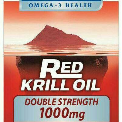 Foto Produk Bioglan Red Krill Oil Double Strength 1000mg dari SteampowFIN