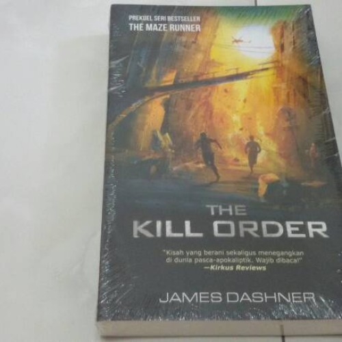 Foto Produk Novel The Kill Order (Prekuel The Maze Runner) dari Pusat Komik