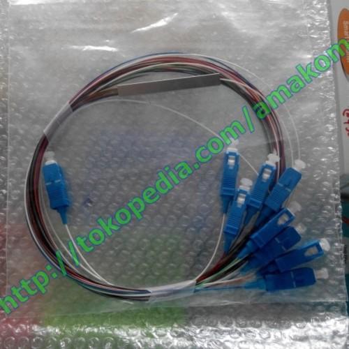 Foto Produk Splitter/Coupler Fiber Optic, 1 To 8 Core (FC, SC) dari AMAKOM MEDIA KOMUNIKA