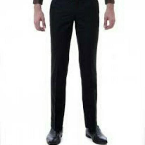 Foto Produk celana formal pria slimfit khusus hitam - Hitam, 27 dari tokosaudara