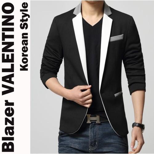 Foto Produk Blazer VALENTINO - Jas Pria Slimfit Korean Style Casual Keren Casual dari SLIMFIT SHOP