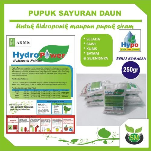 Foto Produk Pupuk Hidroponik AB Mix 250 Gram (Sayur Daun) dari Sumber Makmur (SM)