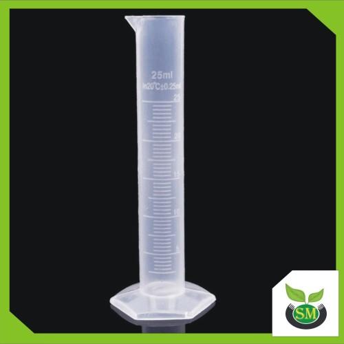 Foto Produk Gelas / Tabung Ukur 25 ml (Takaran Pupuk Hidroponik / Bahan Kimia ) dari Sumber Makmur (SM)