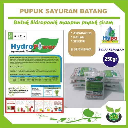 Foto Produk Pupuk Hidroponik AB Mix 250 Gram (Sayuran Batang) dari Sumber Makmur (SM)
