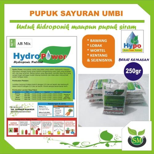 Foto Produk Pupuk Hidroponik AB Mix 250 Gram (Sayuran Umbi) dari Sumber Makmur (SM)