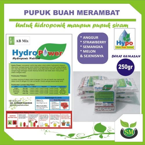 Foto Produk Pupuk Hidroponik AB Mix 250 Gram (Jenis Buah Merambat) dari Sumber Makmur (SM)