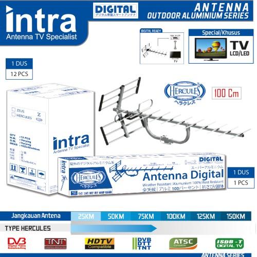 Foto Produk Antena TV Outdoor Digital Intra INT-HERCULES dari homart