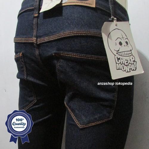Foto Produk Celana Jeans CheapMonday Blue Black dari Anza Shop