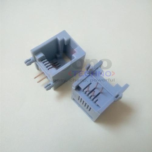 Foto Produk RJ11 socket 4pin (6P4C) dari Sonotechno