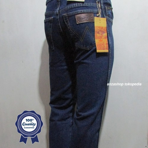 Foto Produk Celana Jeans Branded Wrangler Standar/Regular Biowash 33-38 CO dari Anza Shop