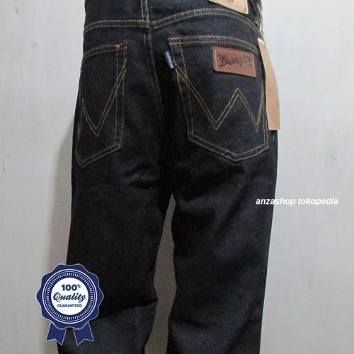 Foto Produk Celana Jeans Branded Wrangler Standar/Regular BlueBlack 27-32 CO dari Anza Shop