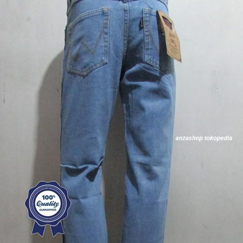 Foto Produk Celana Jeans Branded Wrangler Standar/Regular Bioblitz 33-38 CO dari Anza Shop