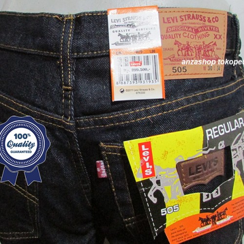 Foto Produk Celana Jeans Branded Levi's/levis Standar/Regular BlueBlack 33-37 CO dari Anza Shop