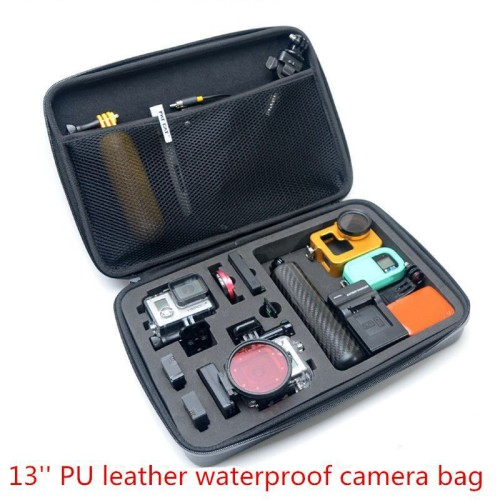 Foto Produk HERO Waterproof EVA Tas Bag Big Size Case GoPro Xiaomi Yi Kogan sj400 dari lbagstore