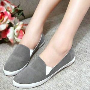Foto Produk NO. 36 Sepatu Casual Wanita Abu RB 02 dari eleza