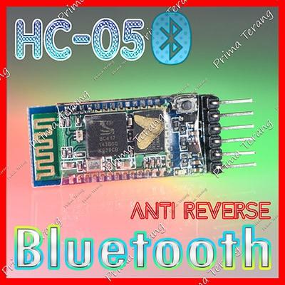 Foto Produk HC-05 Bluetooth Module Anti Reverse HC05 JY-MCU Master Slave dari Prima Terang