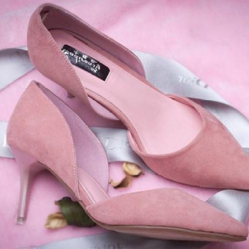 Foto Produk NO. 39 High Heels Wanita Pink RN 03 dari eleza