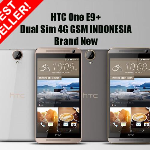 Foto Produk HTC ONE E9 Plus DUAL GSM 1st In Tokopedia - Hitam dari JUALGADGETS
