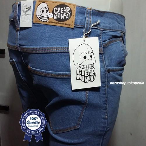 Foto Produk Celana Jeans CheapMonday litle Blue dari Anza Shop