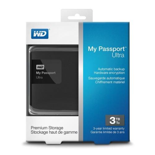 Foto Produk WD My Passport Ultra 3TB USB 3.0 dari Richland Computer