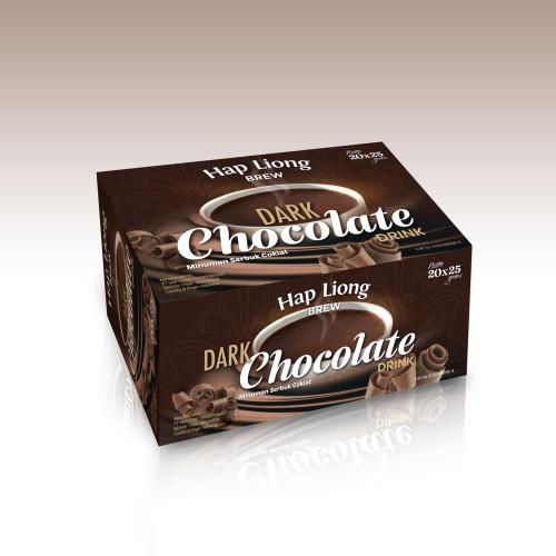 Foto Produk Hap Liong Brew Dark Chocolate Drink Isi 20 X 25 grams dari Hap Liong Brew