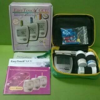 Foto Produk Alat Tes Gula Darah EasyTouch GCU dari Vintaco