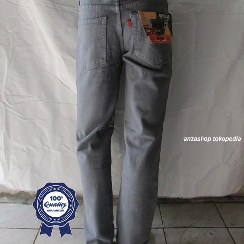 Foto Produk Celana Jeans Branded Levi's/levis Standar/Regular Abu-Abu 33-37 CO dari Anza Shop