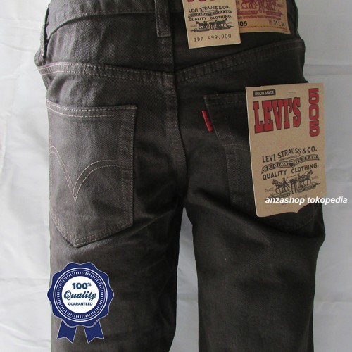 Foto Produk Celana Jeans Branded Levi's/levis Standar/Regular Coklat 27-32 CO dari Anza Shop