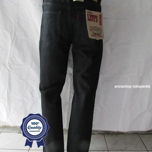 Foto Produk Celana Jeans Branded Levi's/levis Standar/Regular Hitam 33-37 CO dari Anza Shop