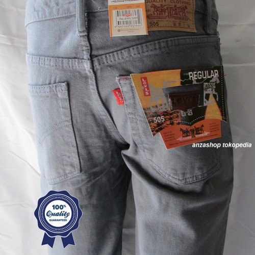 Foto Produk Celana Jeans Branded Levi's/levis Standar/Regular Abu-Abu 27-32 CO dari Anza Shop