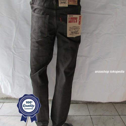 Foto Produk Celana Jeans Branded Levi's/levis Standar/Regular Coklat 33-37 CO dari Anza Shop