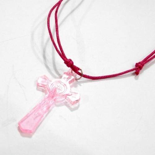 Foto Produk Kalung Salib Benediktus AKRILIK WARNA dari JD Christa