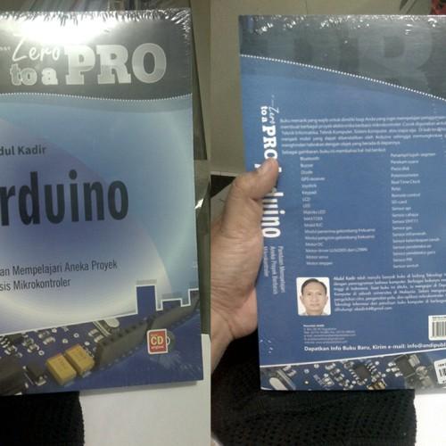 Foto Produk Buku Arduino : From Zero To A Pro Abdul Kadir dari TokoRobot-Net