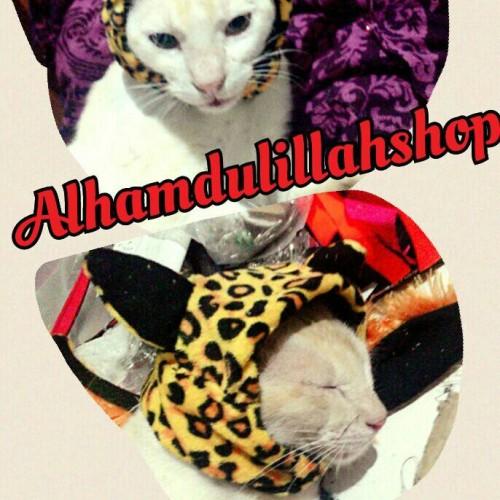 Foto Produk Kerudung macan untuk kucing dari alhamdulillahshop
