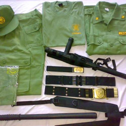 Foto Produk perlengkapan Linmas / hansip lengkap dari konveksi army bandung