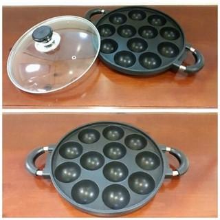 Foto Produk cetakan kue 12 lubang/ snack maker/ takoyaki 12 holes dari Mon-Hardware