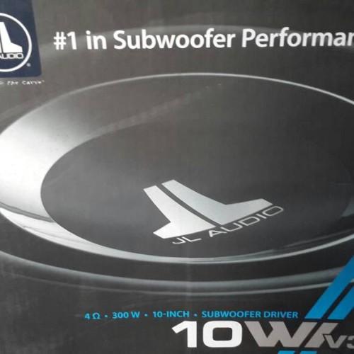 Foto Produk JL AUDIO SUBWOOFER JL AUDIO 10w1v3 4 ohm dari palapa sakti motor