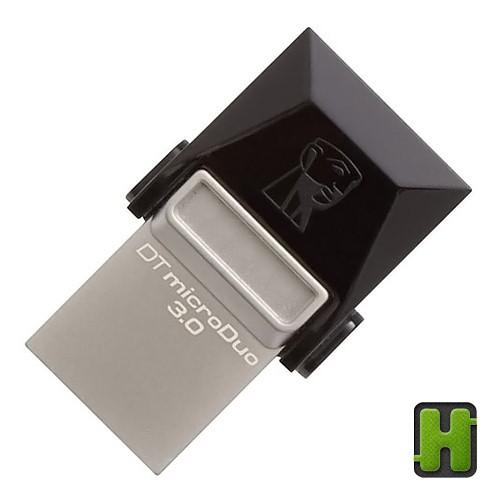 Foto Produk Kingston 32GB DataTraveler MicroDuo Micro USB 3.0 - OTG Flashdisk Data dari hapekita