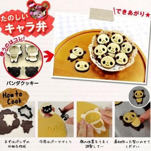 Foto Produk Cetakan Kue Roti Kering Biscuit Cutter Cookies Motif Animal Panda Mold dari Fantasy Land