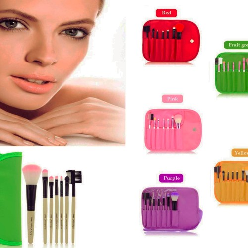 Foto Produk Brush SET Makeup for you / Make up for you 7pcs / set Travel size dari twindshop