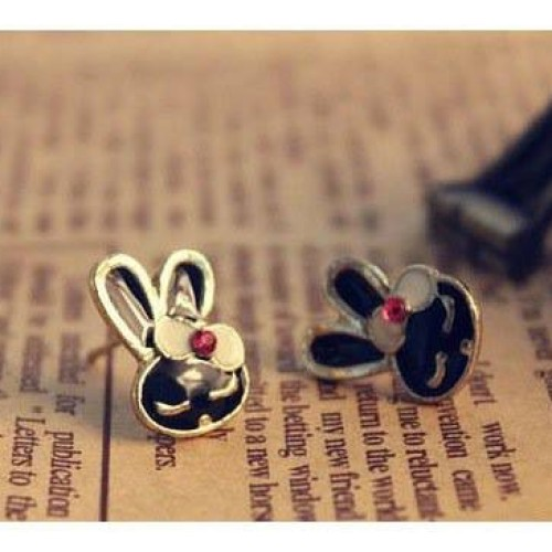Foto Produk Anting cute kelinci rabbit hitam dari cizzshop