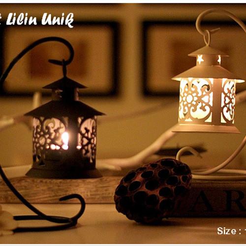 Foto Produk Tempat Lilin Model Gantung, 1 set dengan gantungan dari CERIA SMART